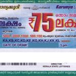 Karunya Kerala Lottery Results KR 334: 24.02.2018