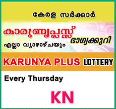Karunya Plus Kerala Lottery Result