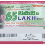 Pournami RN 332 Kerala Lottery Result (25.03.2018)