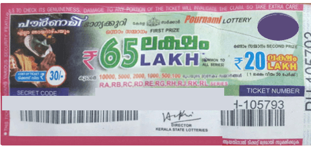 Pournami Lottery Result