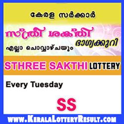Sthree Sakthi SS Kerala Lottery Results