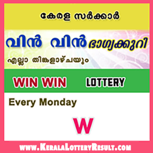 WinWin W Kerala Lottery Results: Graphical Image